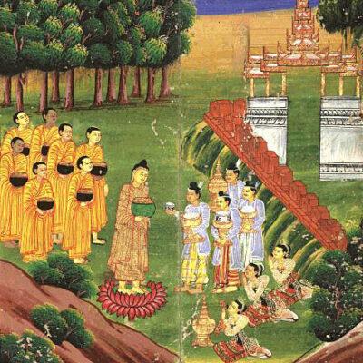 miniature de la conférence : Comment vivaient les premiers bouddhistes